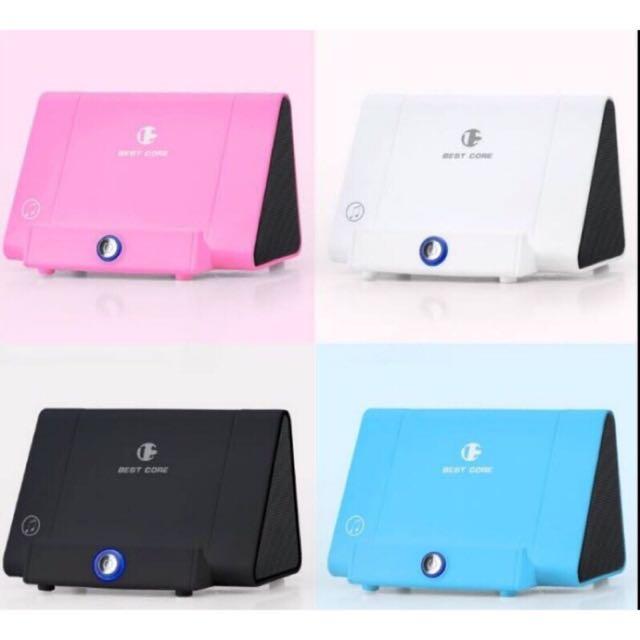 無線感應音箱 ❤️ 黑白粉藍 支援多種手機