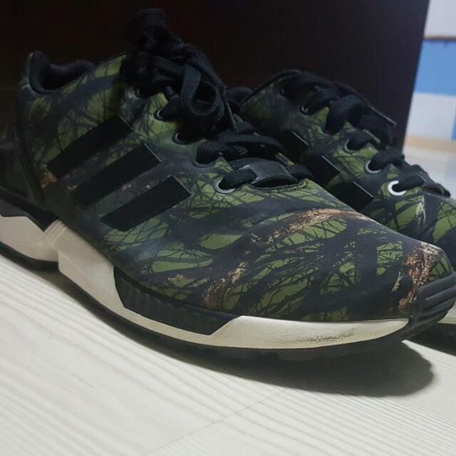 sneakers for cheap 4260d ce409 Adidas ZX Flux Camo