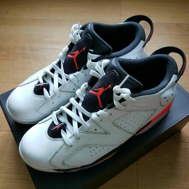 new product 3d7ec e0af7 Air Jordan 6 Retro Low: Infrared