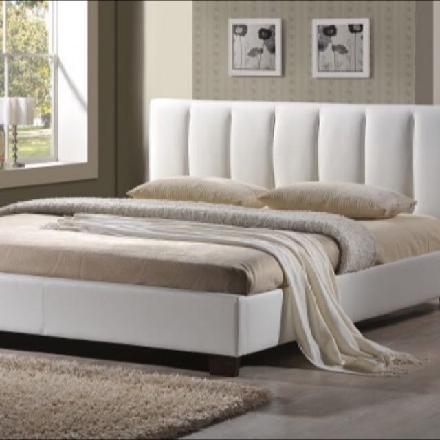 Beautiful Leather Bed