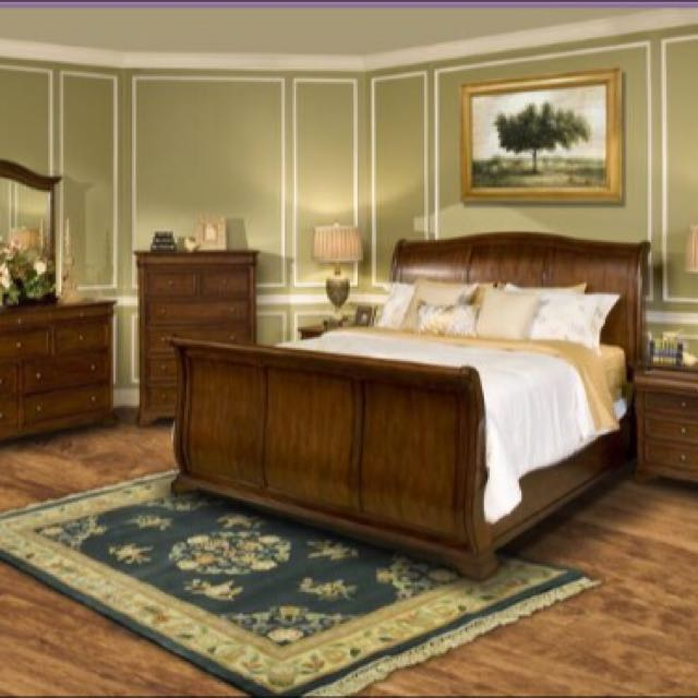 Beautiful Queen Size Bed Frame