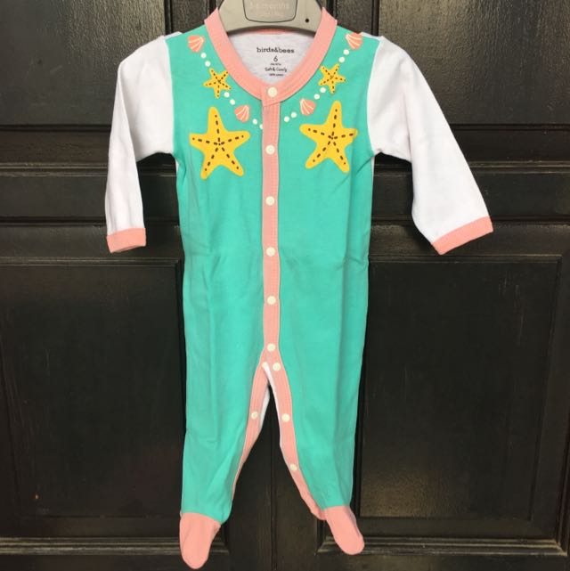 Birds&bees Sleepsuit