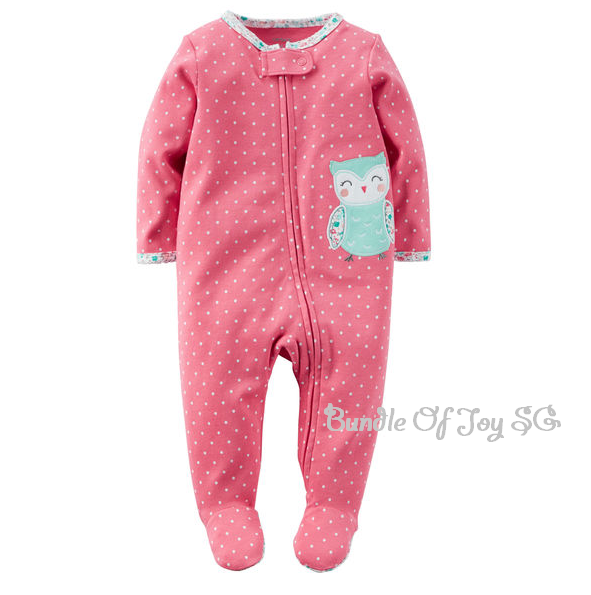 152df132a BN AUTHENTIC Carter s Cotton Zip-Up Sleep   Play Footed Pajamas ...
