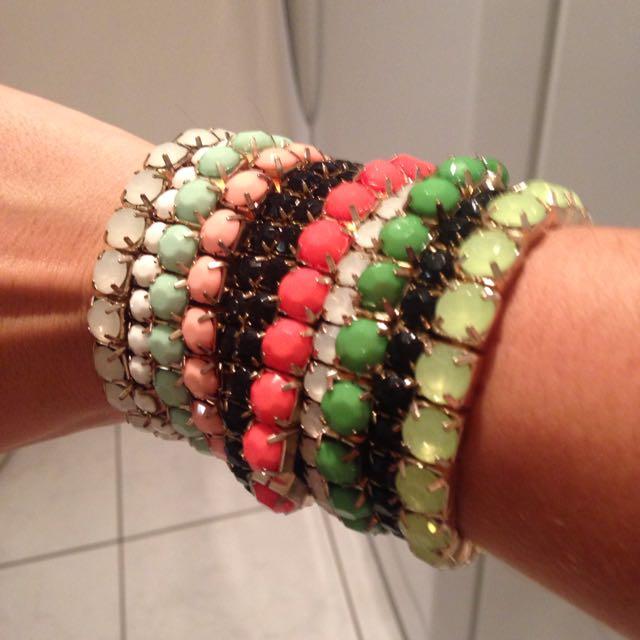 Bracelets Many Colours - From Brazil Never Used!