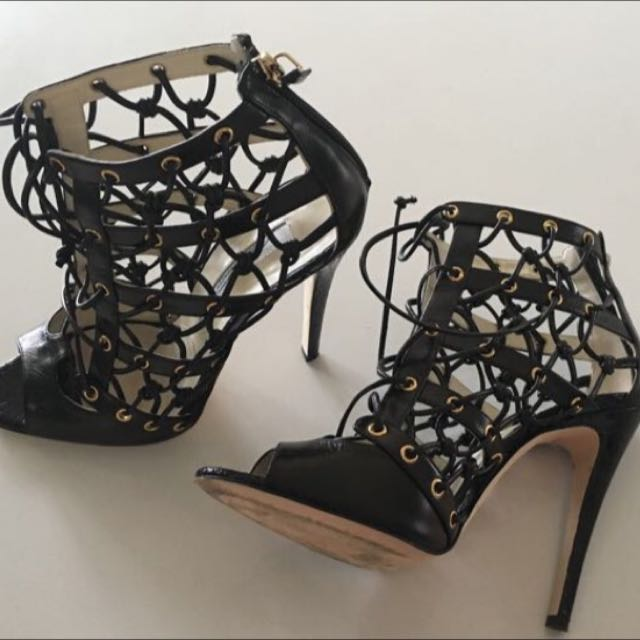 Brian Atwood Cage Heels