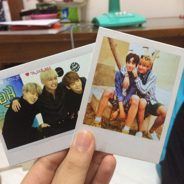 BTS Polaroid (Unofficial)
