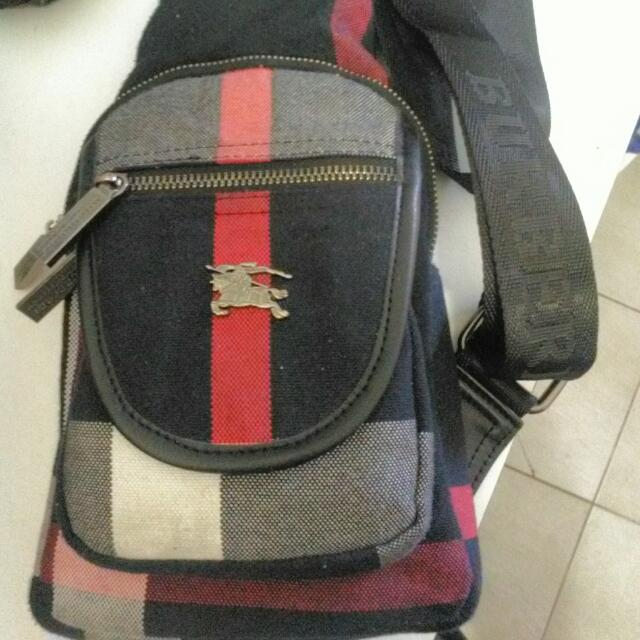 225711d740d7 Burberry Bum bag Bumbag Sidebag Manbag Side Man Satchel Shoulderbag ...