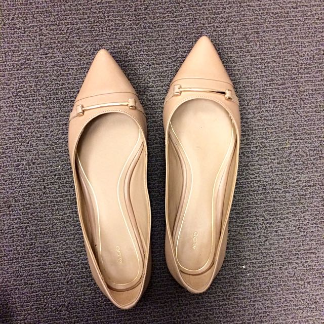 Aldo Real Leather Flats Size 7.5
