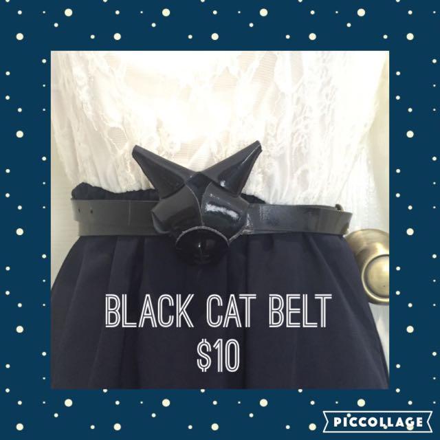 Cat Lady Belt Cute Weird
