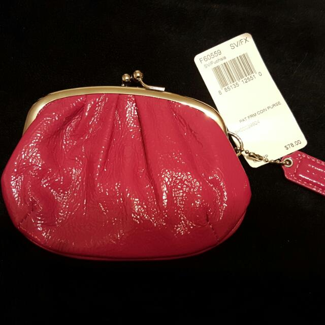 Coach Coin Purse (Never used)