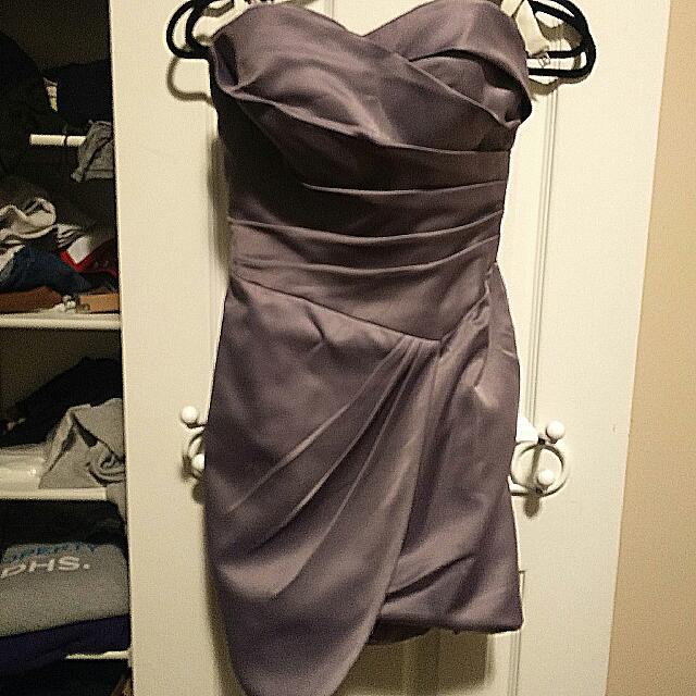 Custom Made Satin Dress