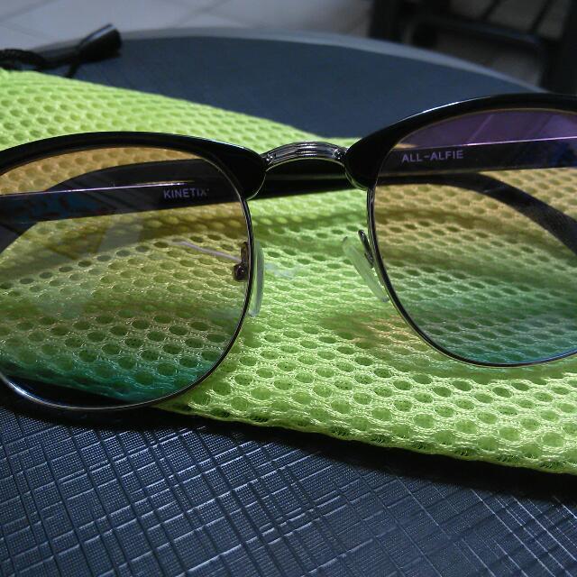 Eye Glass Vintage Fashionable (Unisex) (Retro Lens)