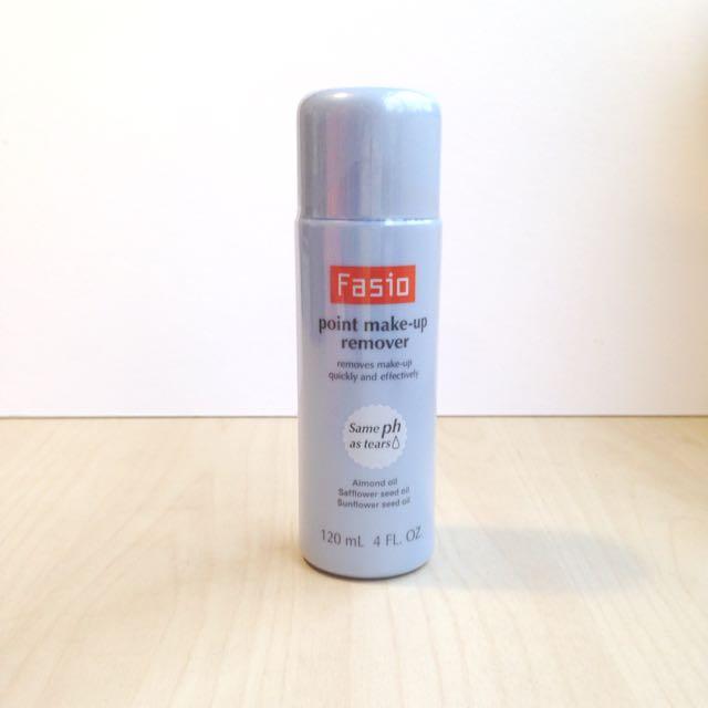 Fasio point make-up remover 法西歐 眼唇柔淨卸妝液