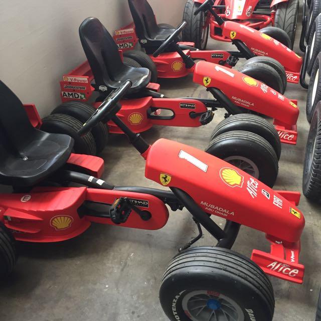 Ferrari Pedal Go Kart Cheap Toys Kids Toys