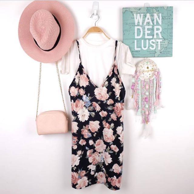 Floral Dress Including Inner