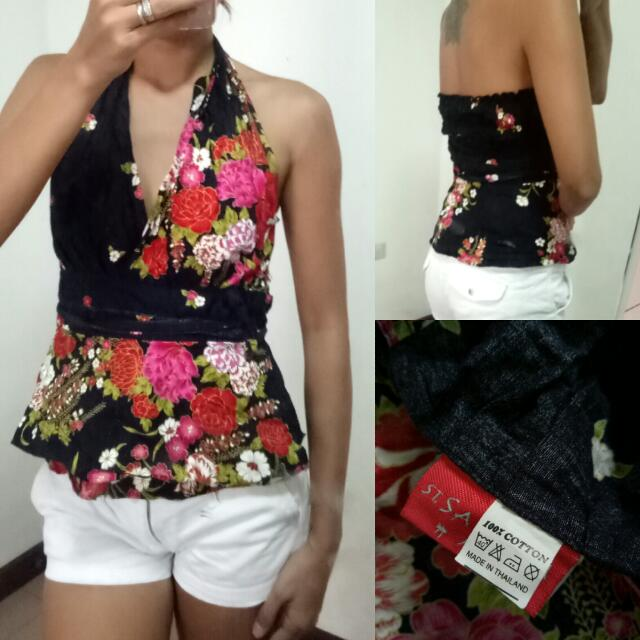 Floral Halter SMALL