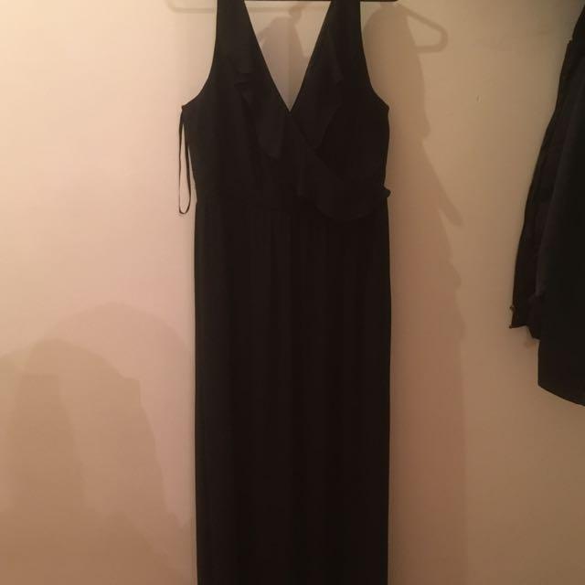 FOREVER NEW Size 18 Black Formal Dress