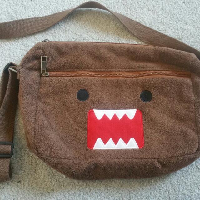 Furry Domo Messenger Bag