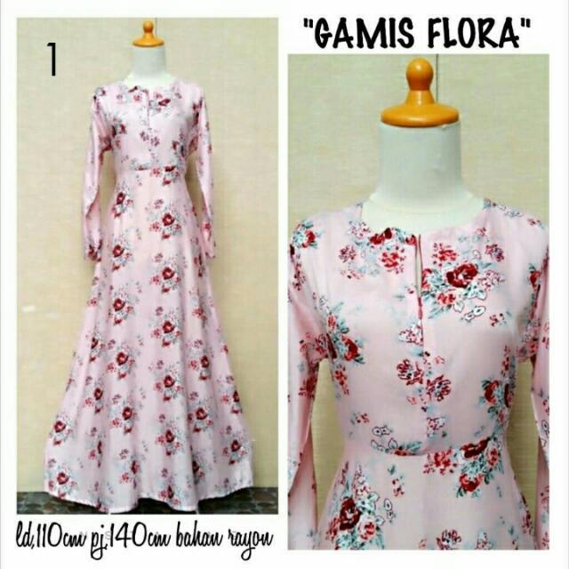 Gamis Bali Flora