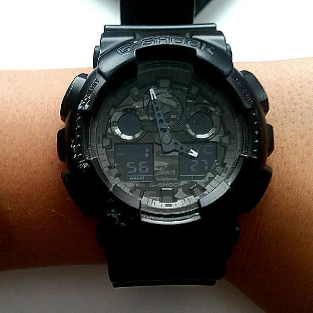 G-Shock WR20BAR black