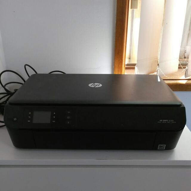 HP Envy 4500 Printer Scanner Copy Photo