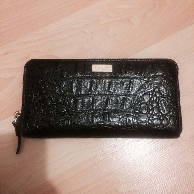 **RESERVED** Kate Spade Black Wallet