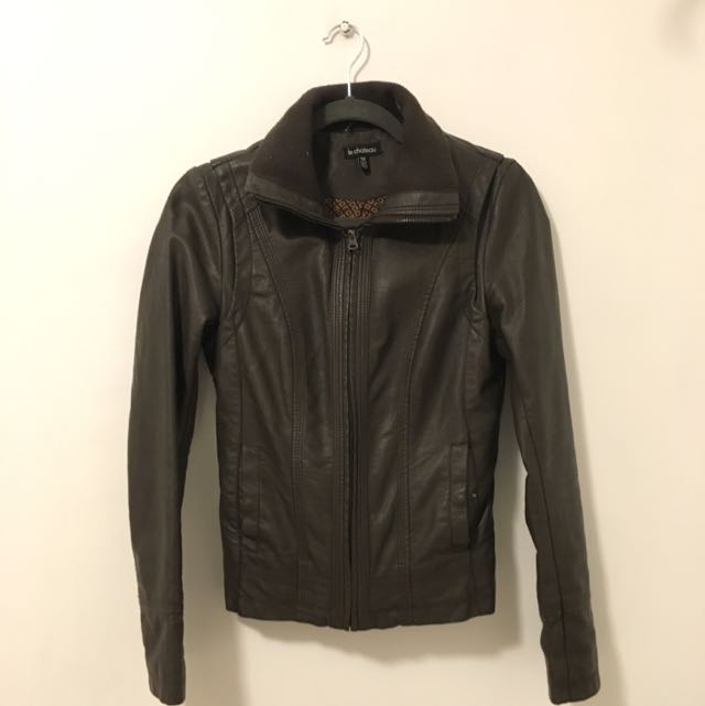 Le Chateau Leather Jacket