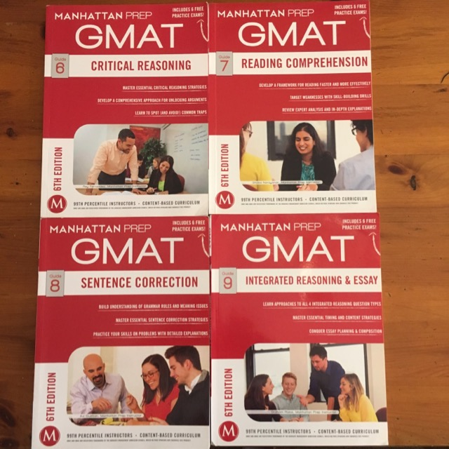 Manhattan GMAT Verbal, Writing and IR