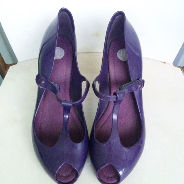 Melissa Shoes Purple Wedge. Original!