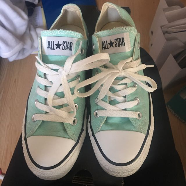 Mint Green Converse - Chuck Taylor's - Size 6.5