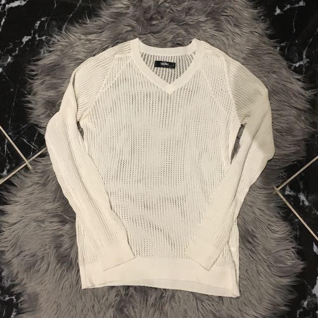 Mossimo Mesh Sweater