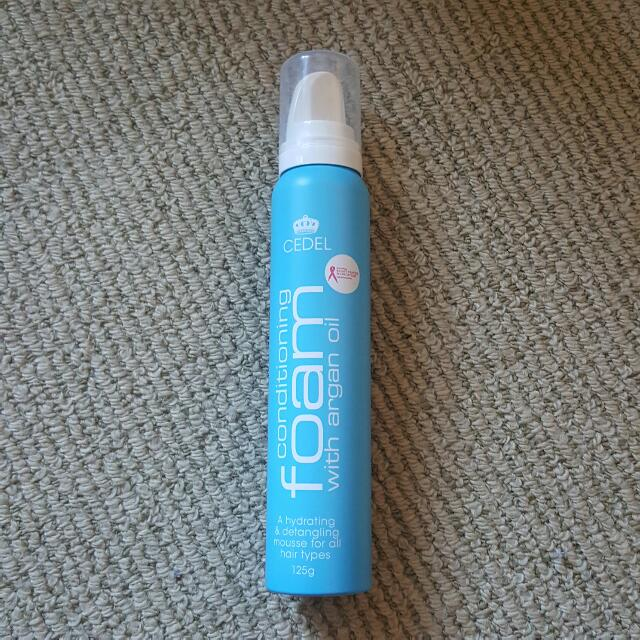 NEW Cedel Conditioning Foam With Argan Oil