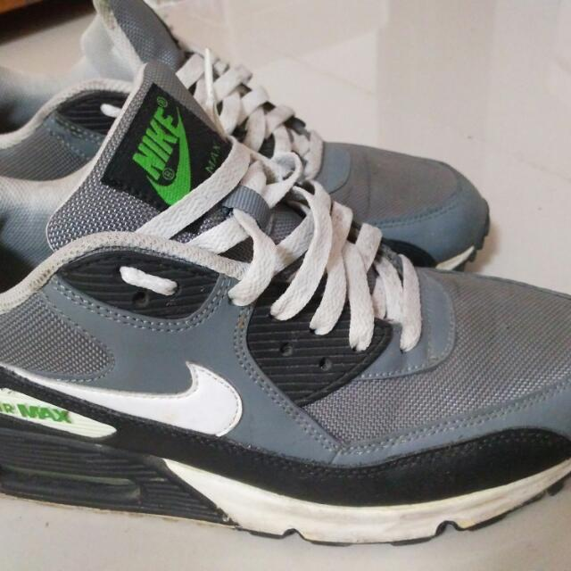 Nike Air Max 90 Grey White Green