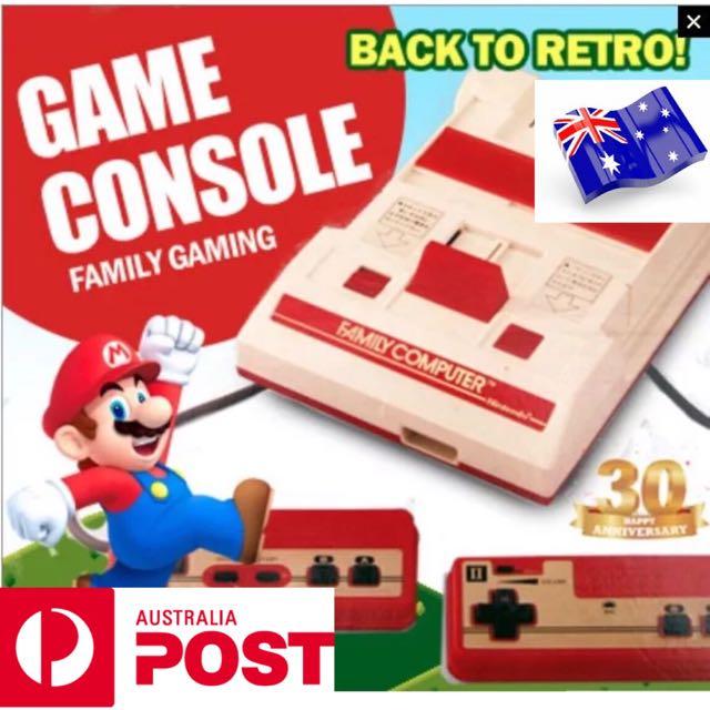NINTENDO EMULATOR RETRO FC COMPACT GAME CONSOLE 232 GAMES NES COMPATIBLE