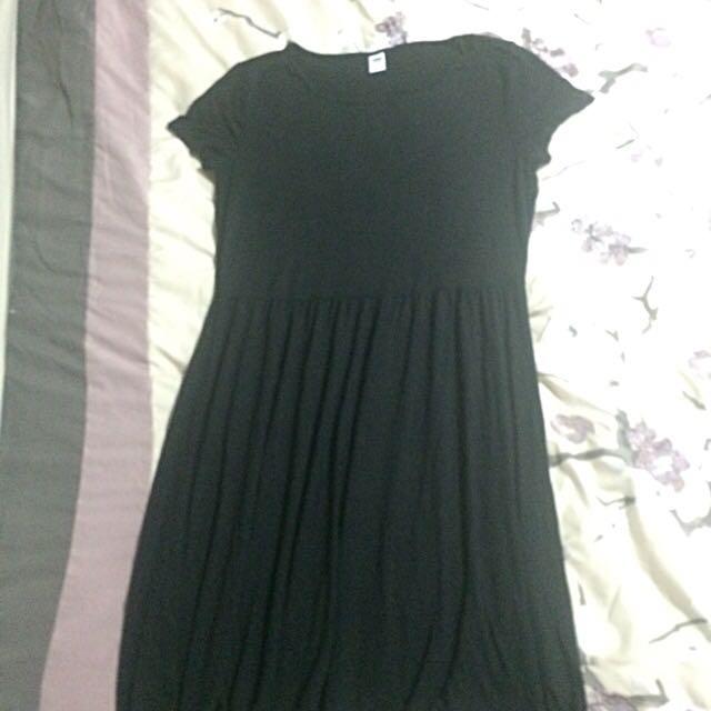 Old Navy Black Tshirt Dress