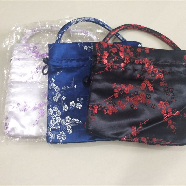 Oriental pouch / small bag / hand held