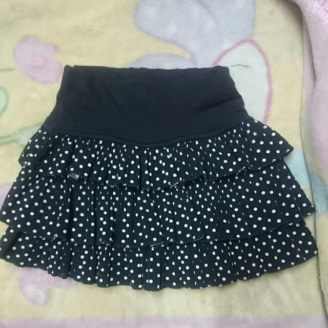 Polka Dots Mini Skirt