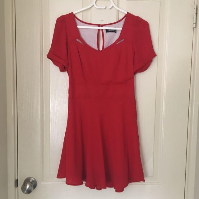 Red Revival Mini Dress