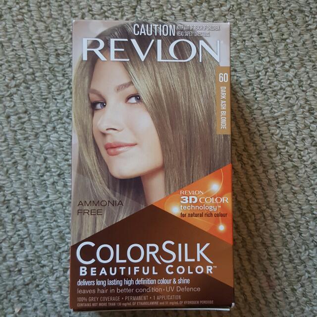 Revlon Colour Silk Ash Blonde 60 Hair Dye