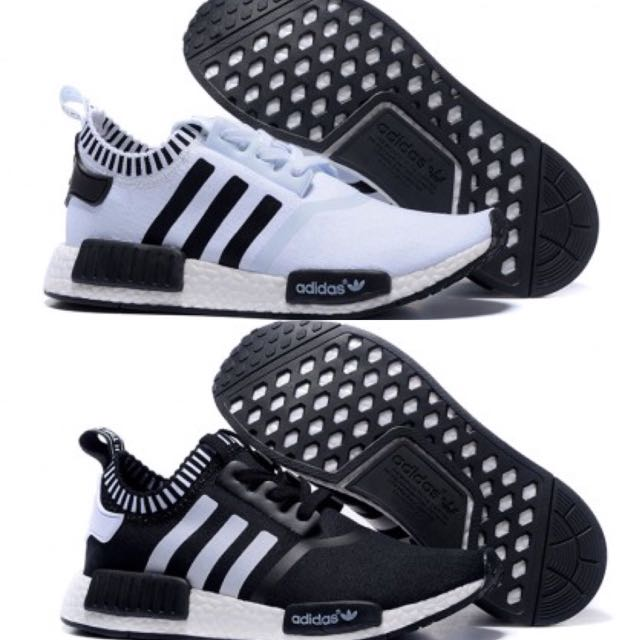 Selling Black And White NMD
