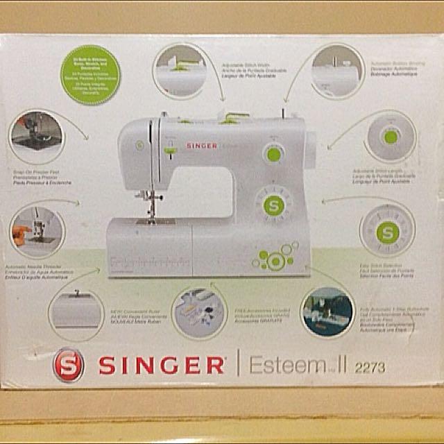 Singer Esteem II Sewing Machine. New In box