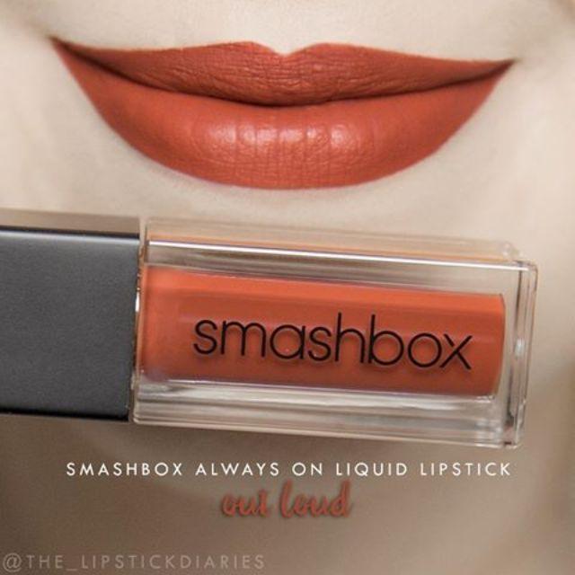 SMASHBOX 液態唇膏 超夯色號out loud