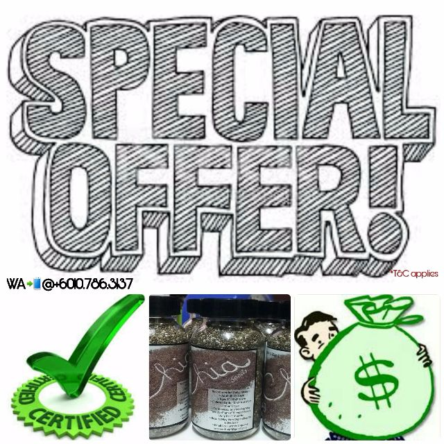 *Special Offer* - Chia_Seeds By Vee