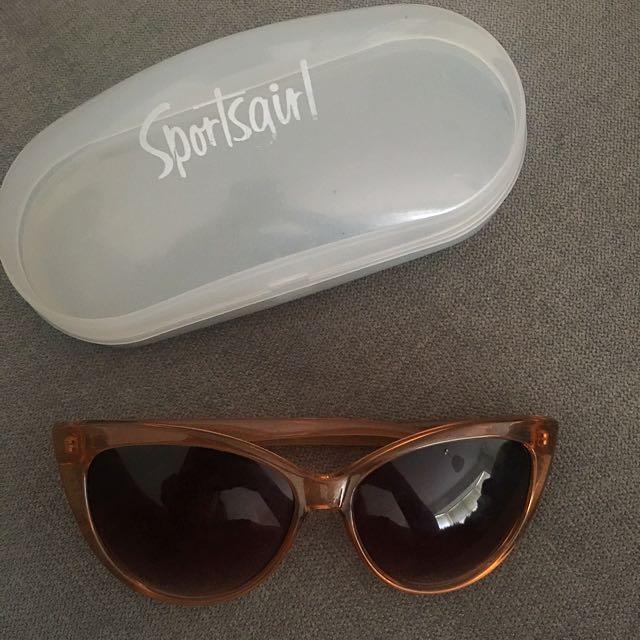 Sportsgirl Cateye Sunglasses.