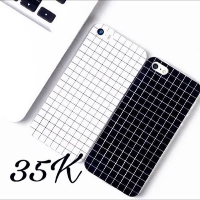 Square BW Iphone Case