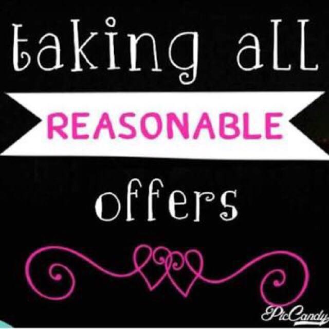 taking reasonable offer