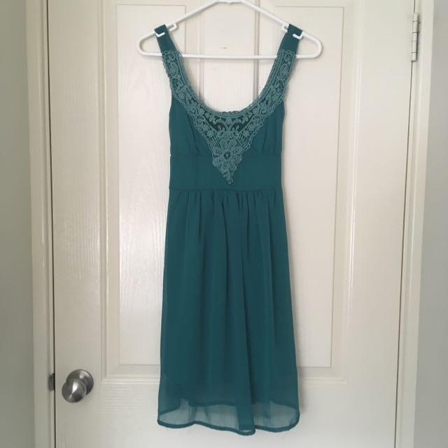 Teal Summer Dress
