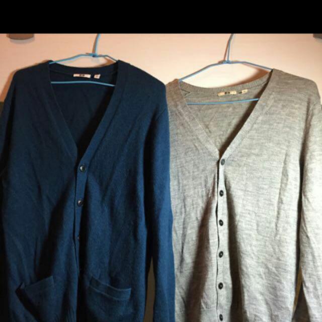 Uniquo男性棉外套