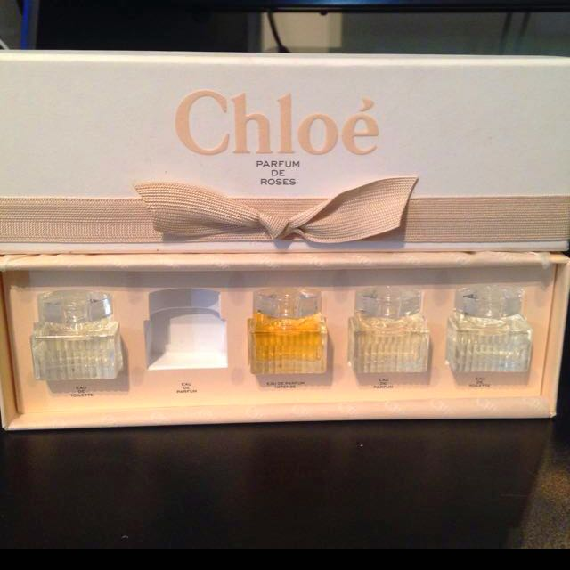 Versace And Chloe Miniature Perfumes