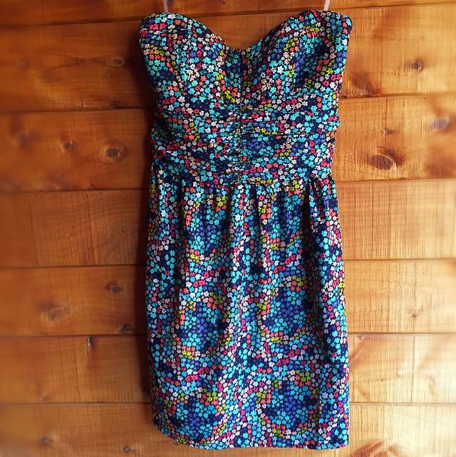 Very Cute Flower Print Dress